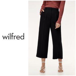 Aritzia Wilfred Talin Black Pants